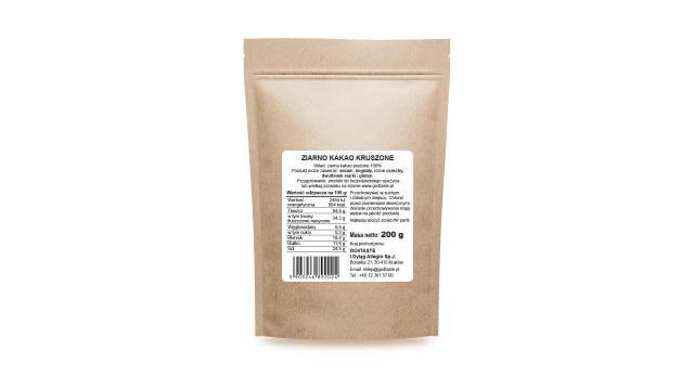 Ziarno kakaowca kruszone - 200g