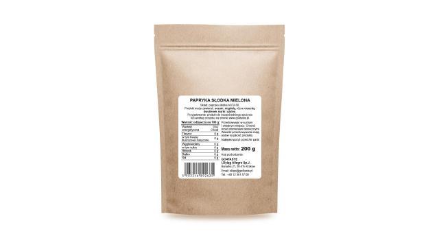 Papryka słodka - 200g ASTA100 mielona