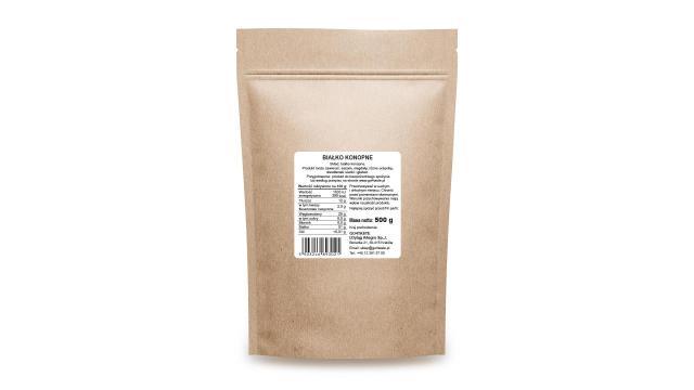 Białko konopne suplement diety Gdzie kupić 500g