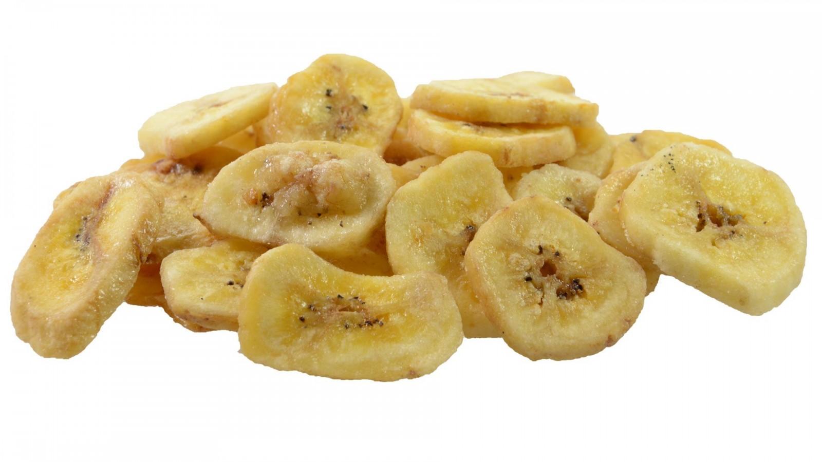 Chipsy bananowe cena słodzone cukrem trzcinowym 500g