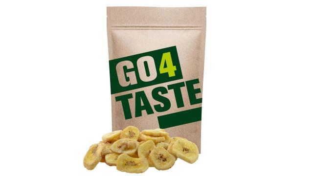 Chipsy bananowe gdzie kupić słodzone cukrem trzcinowym 500g