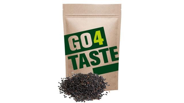 Sezam czarny gdzie kupić 500g aromatyczny niełuskany