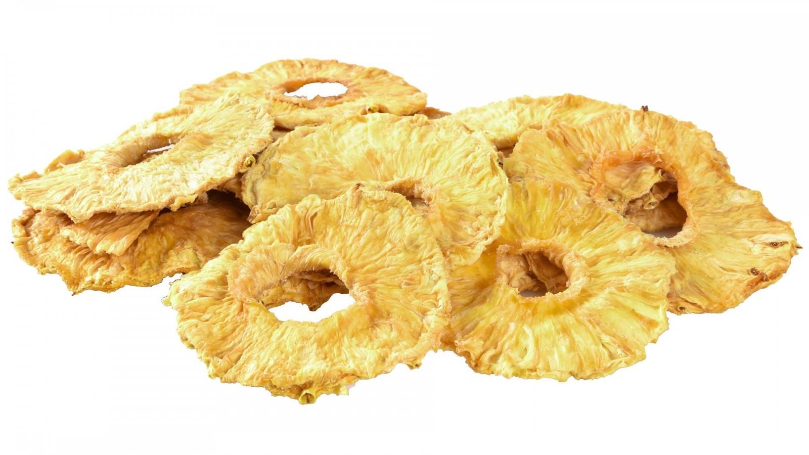 Ananas suszony cena plastry bez cukru bez siarki 500g