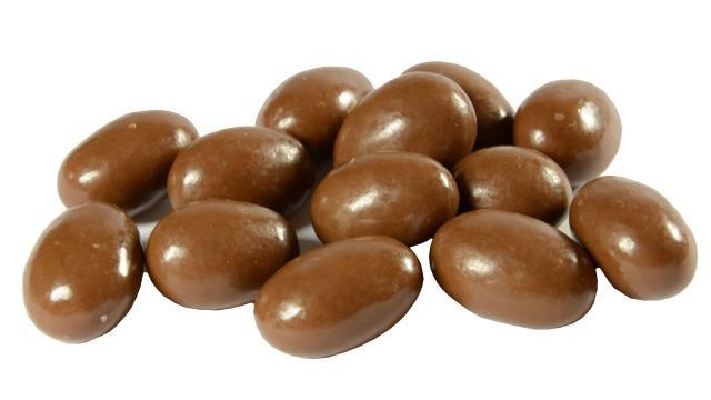 Migdały w czekoladzie mlecznej cena 200g