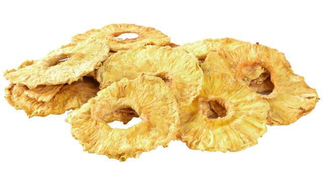 Ananas suszony cena plastry bez cukru bez siarki 200g