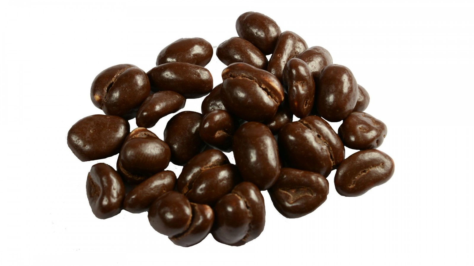 Orzechy ziemne w czekoladzie deserowej - 200g