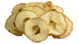 Suszone jabłka bez szypułek polskie - 500g