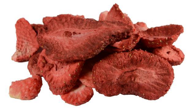 Truskawki liofilizowane cena plastry 50g